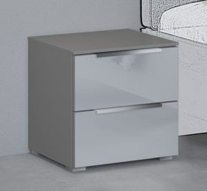 Rauch 20UP Bedside Cabinet with High Gloss Front
