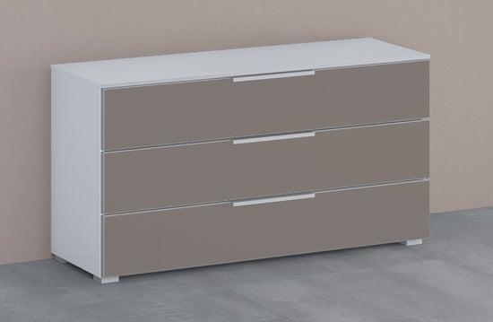 Rauch 20UP Cupboard with Matt Glass Front - H 64cm