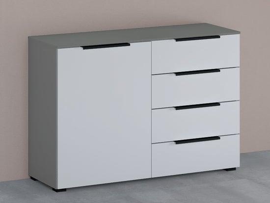 Rauch 20UP Cupboard with Matt White Front - H 84cm
