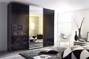 Rauch Kulmbach Sliding Wardrobe with Glass Front