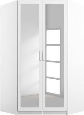 Rauch Rivera White Corner Wardrobe