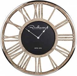 Johnson Skeleton Round Clock