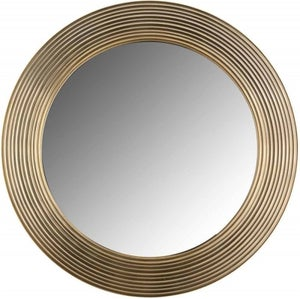 Montel Gold Small Round Mirror - 41cm x 41cm