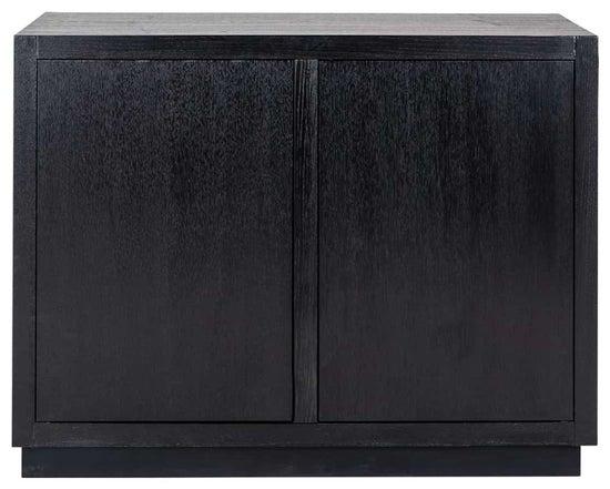 Oakura Black 2 Door Sideboard