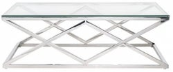 Paramount Glass Top Rectangular Coffee Table