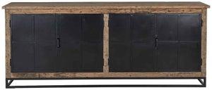 Raffles Recyceld Wood 4 Door Sideboard
