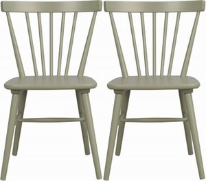 Rowico Akita Green Dining Chair (Pair)