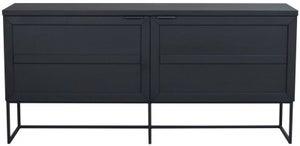 Rowico Everett Black Sideboard