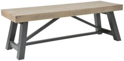 Rowico Lowry Industrial Dining Bench