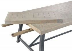 Rowico Lowry Industrial Extension Leaf for Dining Table