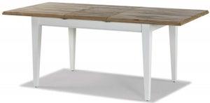 Rowico Lulworth White Extending Dining Table