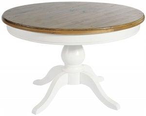 Rowico Lulworth White Round Dining Table