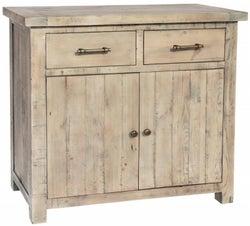 Rowico Saltash Reclaimed Pine 2 Door 2 Drawer Sideboard