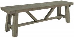 Rowico Saltash Reclaimed Pine Small Dining Bench