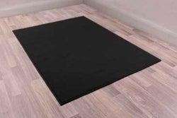 Modern Poly Moda Black Polypropylene Rug