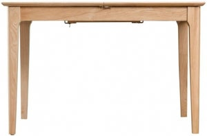 Appleby Oak 120cm Butterfly Extending Dining Table