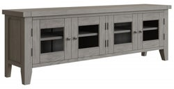 Coniston Grey Oak 4 Door Large TV Unit