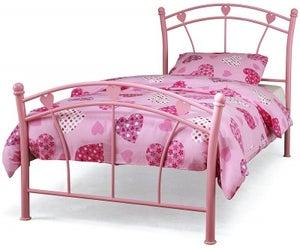 Jemima Pink Single Bed