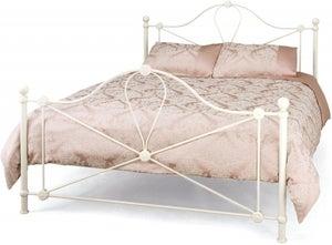 Lyon Ivory Gloss Bed