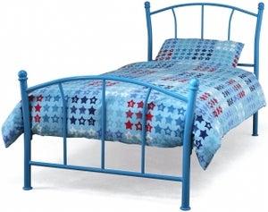 Serene Penny 3ft Blue Metal Bed