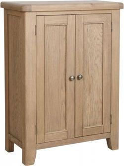 Hatton Oak Shoe Cupboard