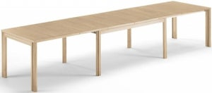 Skovby SM23 6 to 14 Seater Solid Extending Dining Table