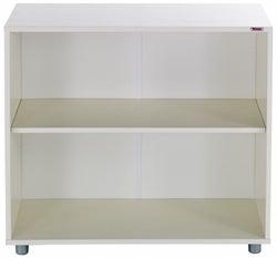 Stompa White Shelf Bookcase