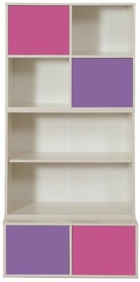 Stompa Storage Bundle A2 with Small Doors - Pink and Purple