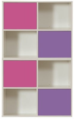 Stompa Storage Bundle E2 with Small Doors - Pink and Purple