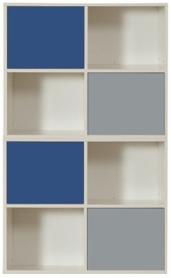 Stompa Storage Bundle E3 with Small Doors - Blue and Grey