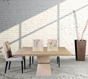 Stone International Clepsy Plus Marble Square Dining Table