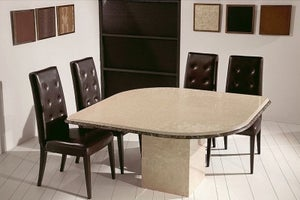 Stone International Leaf Marble Dining Table