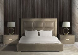 Stone International Marylin Leather Bed