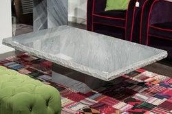 Stone International Roma Chiseled Edge Marble Occasional Table