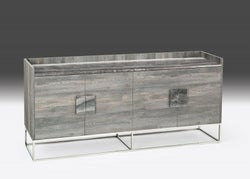 Stone International Tribeca Marble and Metal Buffet