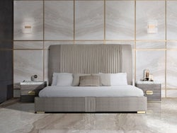 Stone International Westin Leather Bed
