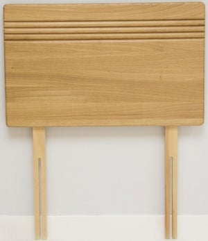 Stuart Jones Flute Solid Oak Headboard
