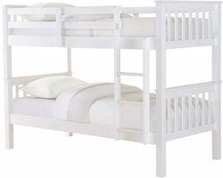 Sweet Dreams Casper White Bunk Bed