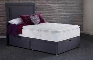 Sweet Dreams Maddie Wool 1000 Pocket Sprung Platform Top Divan Bed Set