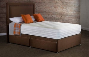 Sweet Dreams Mia Ortho 2000 Stress Free Pocket Sprung Ottoman Divan Bed Set