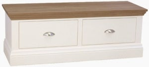 TCH Coelo Large Blanket Box - Oak and Painted