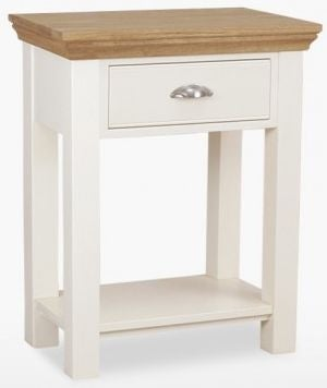 TCH Coelo Console Table - Oak and Painted