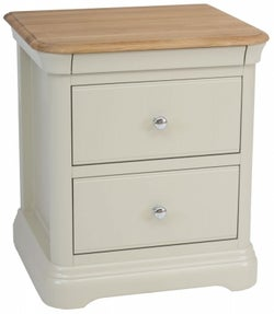TCH Cromwell Bedside Cabinet - Oak and Painted