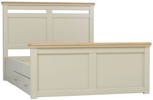 TCH Cromwell Storage Bed - Oak and Painted
