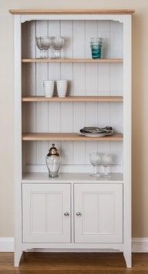 TCH New England Oak Large Bookcase