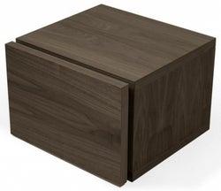 Temahome Float Walnut Bedside Cabinet