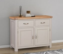 Clarion Oak and Grey Painted Medium Sideboard
