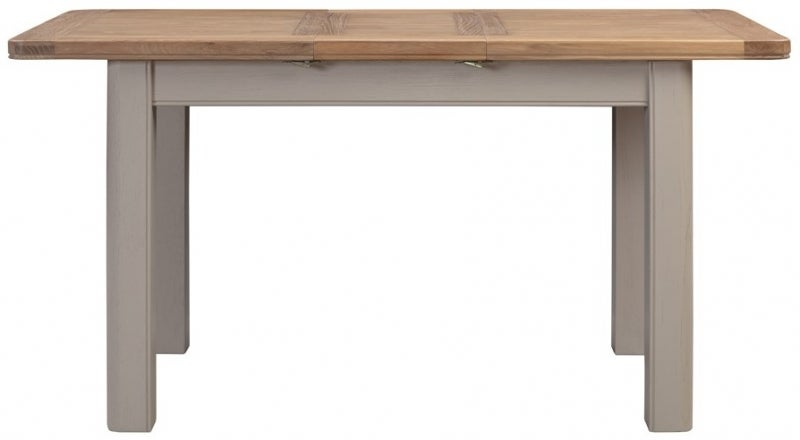 Clarion Oak and Grey Painted Extending Dining Table