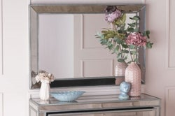 Alhambra French Aged  Wall Mirror