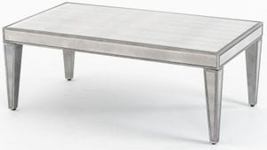 Alhambra French Aged Mirrored Coffee Table